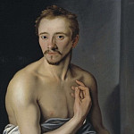 Jacob Heinrich Elbfas - Model study called Lasse Lucidor