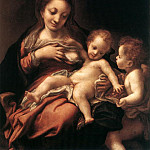 Correggio (Antonio Allegri) - Virgin And Child With An Angel