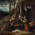 Gallo Gallina - Nativity with Saint Elizabeth and the Infant Saint John the Baptist