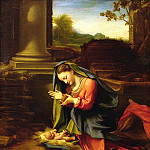 Uffizi - Our Lady Worshipping the Child