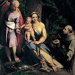 Correggio (Antonio Allegri) - Rest on the Flight into Egypt