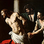 The Flagellation of Christ , Michelangelo Merisi da Caravaggio