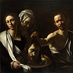 Michelangelo Merisi da Caravaggio - Salome receives the Head of Saint John the Baptist