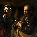 Michelangelo Merisi da Caravaggio - Denial of Saint Peter