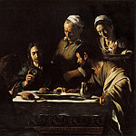 Supper at Emmaus, Michelangelo Merisi da Caravaggio