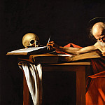 Michelangelo Merisi da Caravaggio - Saint Jerome Writing