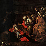 Adoration of the Shepherds, Michelangelo Merisi da Caravaggio