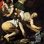 The Martyrdom of Saint Peter, Michelangelo Merisi da Caravaggio