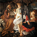 Michelangelo Merisi da Caravaggio - Rest on the Flight into Egypt