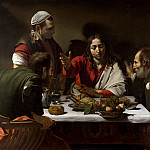 The Supper at Emmaus, Michelangelo Merisi da Caravaggio