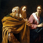 The Calling of Saints Peter and Andrew, Michelangelo Merisi da Caravaggio