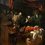 Death of the Virgin, Michelangelo Merisi da Caravaggio