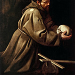 Michelangelo Merisi da Caravaggio - Saint Francis in Prayer
