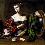 Martha and Mary Magdalene, Michelangelo Merisi da Caravaggio