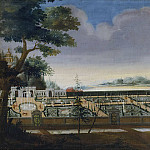 Michelangelo Cerquozzi - View of Ulriksdal from the South