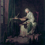 The Ledger, Jean Baptiste Siméon Chardin