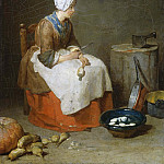 The Kitchen Maid, Jean Baptiste Siméon Chardin