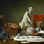 The Attributes of the Arts and the Rewards Which Are Accorded Them, Jean Baptiste Siméon Chardin