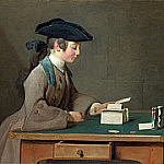 The House of Cards, Jean Baptiste Siméon Chardin