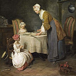 Jean Baptiste Siméon Chardin - Saying Grace