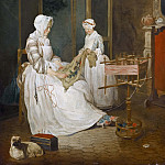 The Diligent Mother, Jean Baptiste Siméon Chardin
