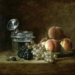 Peaches and Grapes, Jean Baptiste Siméon Chardin