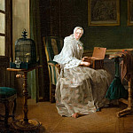 The Bird-Song Organ, Jean Baptiste Siméon Chardin