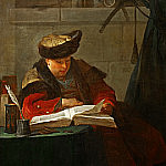 portrait of the painter Joseph Aved, Jean Baptiste Siméon Chardin