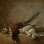 Still Life with Game, Jean Baptiste Siméon Chardin