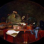 Jean Baptiste Siméon Chardin - The Attributes of Music