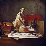 The Attributes of the Arts and their Rewards, Jean Baptiste Siméon Chardin