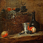 Still life with fruit, Jean Baptiste Siméon Chardin