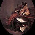The monkey antiquarian, Jean Baptiste Siméon Chardin