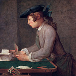 Building a House of Cards, Jean Baptiste Siméon Chardin
