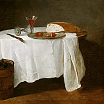 Diego Rodriguez De Silva y Velazquez - The White Tablecloth