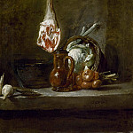 Still Life with Leg of Lamb, Jean Baptiste Siméon Chardin