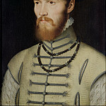 Francois Clouet - Portrait of a Man, possibly Don John of Austria (1547-78)