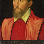 Francois Clouet - Portrait of Odet de Coligny (1517-1571) Cardinal of Chatillon