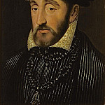 Francois Clouet - Portrait of Henri II of France (1519-1559)