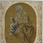 Study for a Reading Apostle or Evangelist, R K Post
