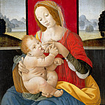 Lorenzo d'Alessandro - Madonna and Child (Workshop)