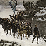 David Klöcker Ehrenstråhl - Bringing Home the Body of King Karl XII of Sweden