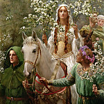 John Collier - Queen Guineveres Maying