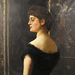 John Collier - Portrait of Laura Mary Stapleton