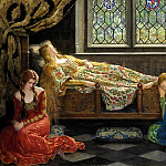 John Collier - Sleeping Beauty