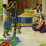 John Collier - Myrrah, Aloes and Cassia
