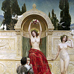 John Collier - In the Venusberg Tannhauser