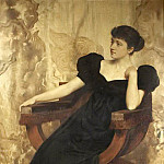 John Collier - Portrait of an Unknown Woman