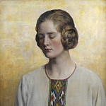 John Collier - Portrait of a woman
