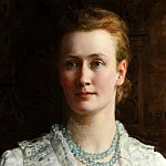John Collier - Blanche Parish (1851–1924), Lady Shuttleworth